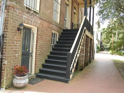 Walk Out Your Door Onto Jones Street's Wide Sidewalks!