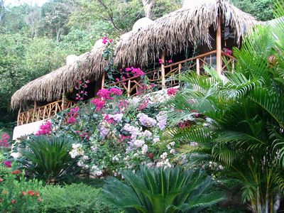 Villa Casa Bonita surrounded by jungle