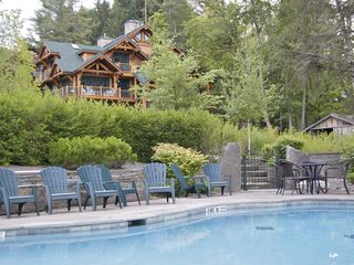 Cooperstown cabin photo - Heated lake side pool