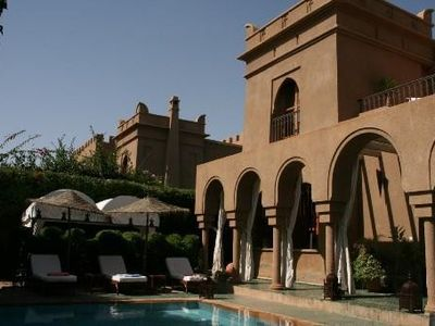 MARRACKECH - Targa - 8 room luxurious villa with private pool in enclosed garden