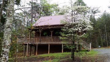 Lake Lure cabin rental - Cabin in the Spring time