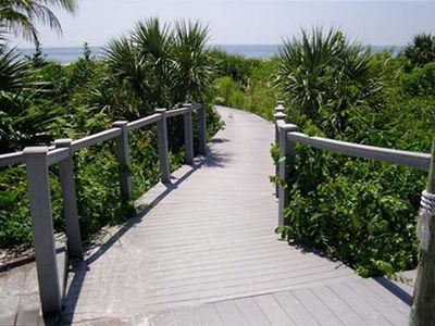 YOUR PATH TO THE BEACH ONLY A FEW STEPS FROM YOUR CONDO