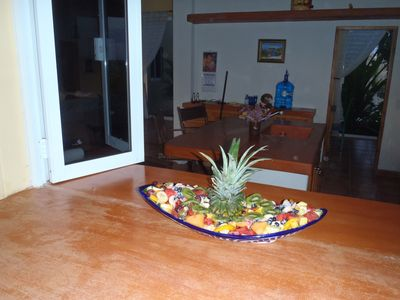 Todos Santos house rental - Pass through bar