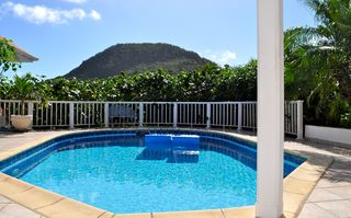 St Barthelemy villa photo - Garden pool