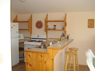 Acadia National Park cabin photo - kitchen area