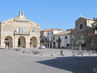 Treglio house photo - The piazza - during the summer it hosts many concerts and events.