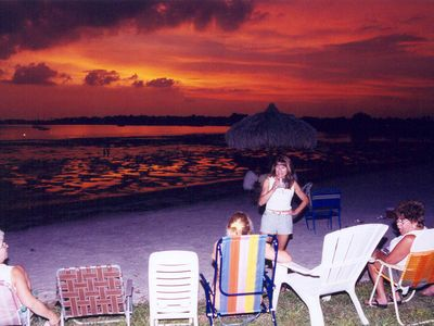 Lots of sunset beach parties--you will love our special tropical paradise