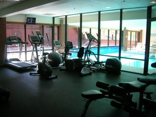 The Lodge at Mountain Village condo photo - Fitness Center adjacent to indoor/outdoor pool