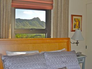 Waikiki condo photo - Beautiful view of Diamond Head from this bedroom window