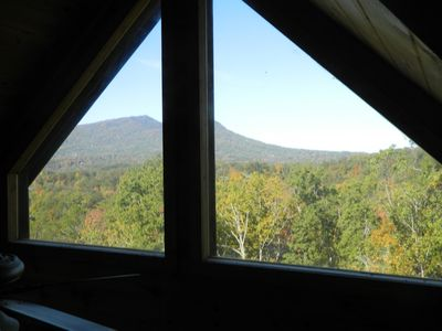 Pigeon Forge cabin rental - View from Loft Bedroom