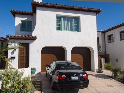 San Clemente condo rental - Front Entry from street and parking