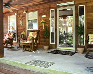 A beautiful porch to relax and enjoy