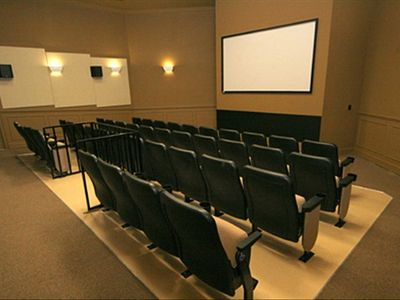 Free Surround Sound Movie Theater at Windsor Hills Club House