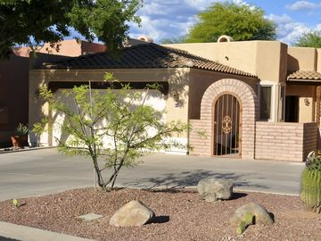 Tubac house rental - Double garage, well maintained, landscaped, friendly neighbourhood