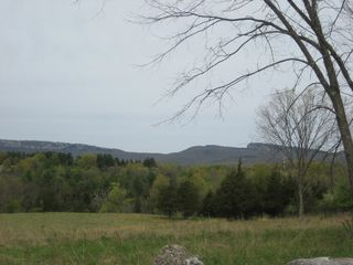 New Paltz house photo - Mountain view from road at street corner