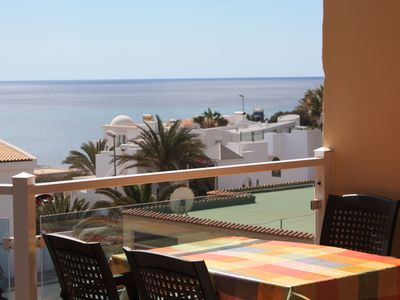 * Directly on a fine sandy beach Playa Sotavento * POOL * SEA VIEW *