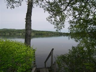 Lakeville cottage photo - Stairs to the Dock