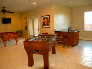St. George house photo - Wet bar and game room