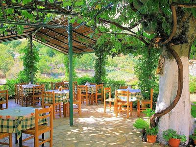 A taverna is within walking distance