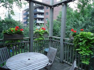 Montreal townhome photo - Back balcony