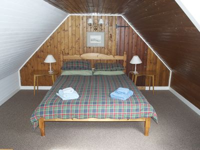 West Bothy - double bedroom