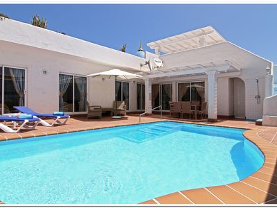 Luxury 3 bedroom villa with private heated swimming pool