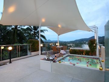 Surin beach apartment rental - Roof top