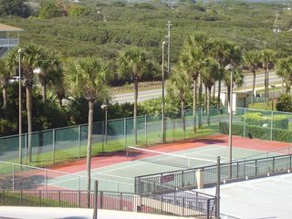 St. Augustine condo photo - Lighted Tennis, Shuffleboard--Beach Bikes to Binocs