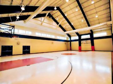 Indoor Basketball Court at the Shawnee Village Resort