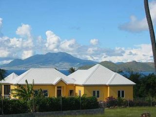 Pinney Beach villa photo - Haven in the Sun with view of St. Kitts.