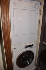 Eckington townhome photo - Washer/Dryer in kitchen closet.