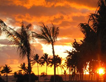Fall in Love with Kauai Sunsets ... again and again ...