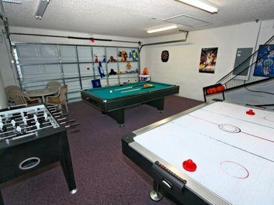 Games Room Secret key Cove Villa