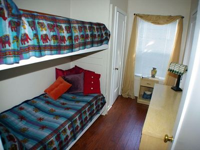 Custom Bunk Beds.  2nd Bathroom