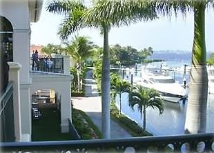 Fort Myers Beach condo rental - Gulf Harbour Country Club Marina