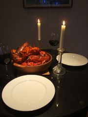 Saco farmhouse photo - Lobster Dinner!!!