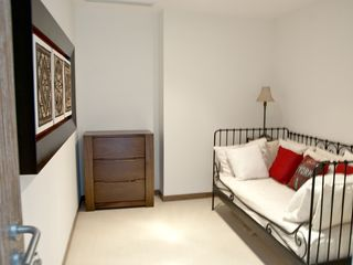 Nuevo Vallarta condo photo - Den/TV room (LCD TV has been added).Sleeps 1 on real single Sealy mattress.