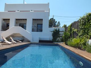Sitges Town villa photo - Pool and Villa