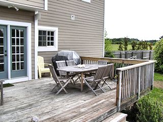 Cape Charles house photo - Second View of Deck