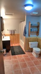 Mount Baker cabin photo - Spacious downstairs bath. Great place to get hot tub ready!