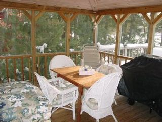 Moultonborough house photo - Screened Porch View 1