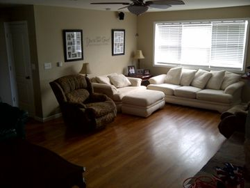 ohter side of the large family room. great couch to take a nape on or sleep on.