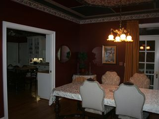 Auburn house photo - The large Formal Dining Room is adjacent to the Kitchen and Entry.