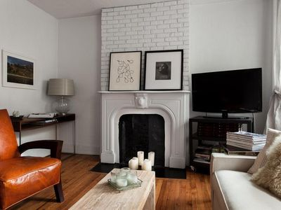 Rustically elegant home in the West Village.