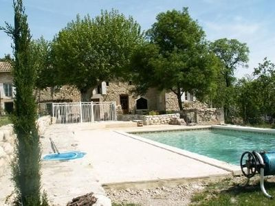 Old renovated Provencal mill, very pretty accommodations, close to Grignan