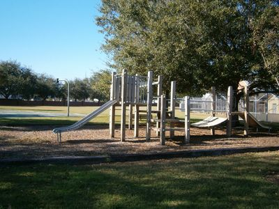Lake Davenport Estates villa rental - One of the community play areas