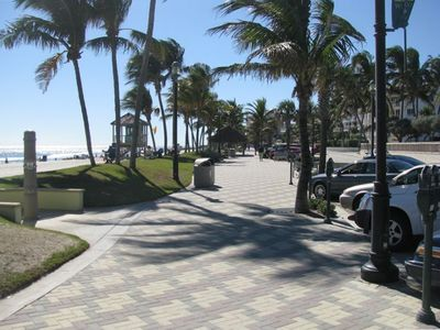 Deerfield Beach hotel rental - Beautiful promenade by the beach
