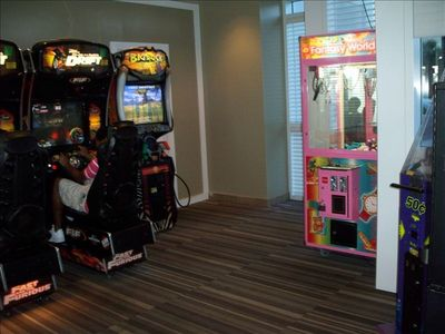 Game Room Located in Tower 2