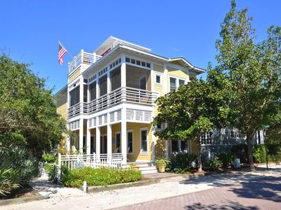 Front Exterior | Cherry On Top | Cottage Rental Agency | Seaside, Florida