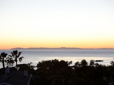 Full Catalina Island Sunsets from the property.